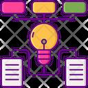 Algorithms Analytics Diagram Creative Structure Icon