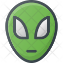Alien Fiction Space Icon