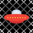 Alien Space Spaceship Icon