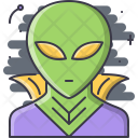 Alien Cloak Space Icon