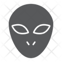 Alien Space Character Icon