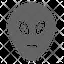 Alien Monster Martian Icon