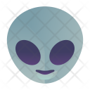 Alien Emoji Smiley Icon