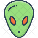 Alien Foreigner Gringo Icon