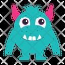 Alien Cartoon Monster Icon