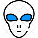 Alien Monster Space Icon