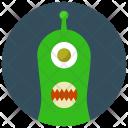One Alien Eye Icon