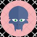 Animal Alien Head Icon