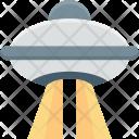 Alien Ship Flying Icon