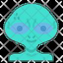 Alien Monster Science Icon