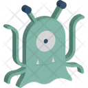 Alien Fiction Monster Icon