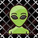 Alien Space Avatar Humanoid Icon