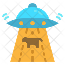 Alien Ufo Science Icon