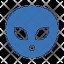 Alien Monster Face Icon