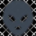 Space Ufo Alien Icon