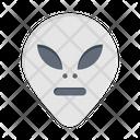 Alien Monster Skull Icon