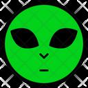 Alien Martian Space Icon