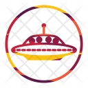Alien Fiction Ship Icon