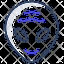 Alien Space Avatar Extraterrestrial Icon