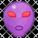 Alien Extraterrestrial Life Alien Face Icon