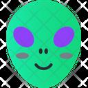 Alien Smiley Avatar Icon