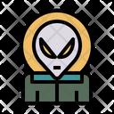 Alien Ufo Extraterrestrial Icon