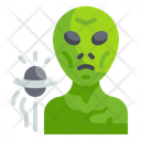 Alien Extraterrestrial Universe Icon
