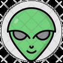 Alien Extraterrestrial Martian Icon