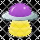 Spaceship Spacecraft Alien Spaceship Icon