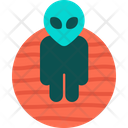 Alien From Mars Icon