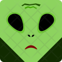 Alien Halloween Spooky Icon