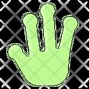 Alien Hand Icon