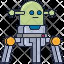 Malien Robot Alien Robot Bot Icon