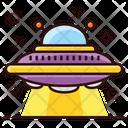 Alien Spaceship Scapecraft Space Shuttle Icon