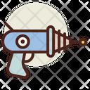 Alien Weapon Laser Gun Gun Icon