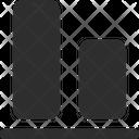 Aligment Bottom Icon