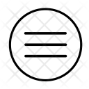 Align Justify Arrange Icon