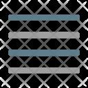 Align Justify Paragraph Icon