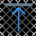 Align Top Type Icon