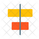 Align Horizontally Arrange Icon