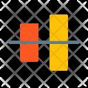 Align Vertically Arrange Icon