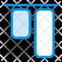 Align Bottom Vertical Icon