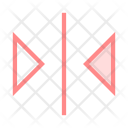 Arrows Alignment Text Icon