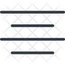 Align Center Paragraph Icon