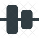Align Object Horizontal Icon