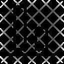 Align Bottom Arrange Align Icon