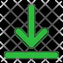 Align Bottom Arrow Arrows Icon