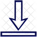 Align Bottom Align Arrow Icon