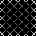 Align center horizontal Icon