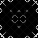 Align Center Justify Icon